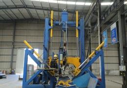линия по изготовлению стальных многогранных опор на основе китайского оборудования